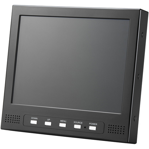 "Eversun Technologies 8"" Color LCD Security Monitor with Audio (NTSC & PAL)"