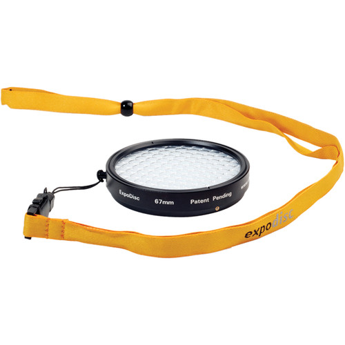 ExpoImaging 67mm ExpoDisc Digital Warm Balance Filter (Portrait)