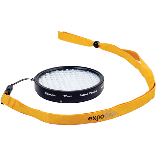 ExpoImaging 72mm ExpoDisc Digital Warm Balance Filter (Portrait)