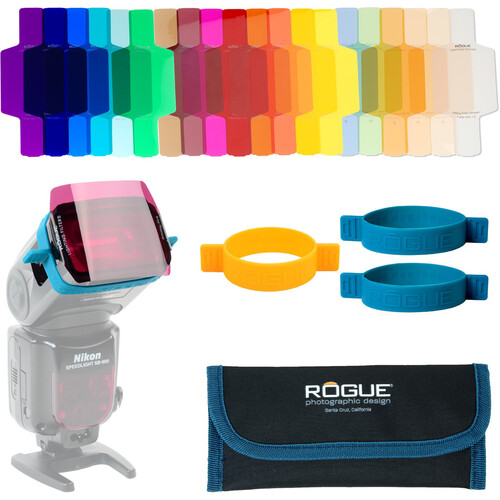 Rogue Photographic Design Rogue Gels Universal Lighting Filter Kit (Set of 20)