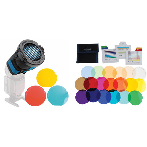 ExpoImaging Rogue 3-in-1 Grid and Color Correction Filters Kit
