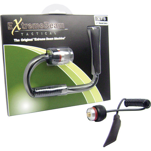 """ExtremeBeam 23"""" Pigtail Remote Pressure Switch and Cap for the XT8"""