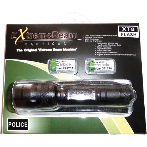 ExtremeBeam XT8-L FLASH ProRanger Flashlight Kit (Raised Button)