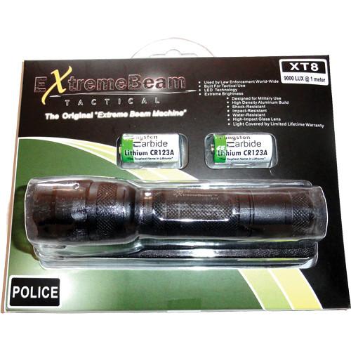ExtremeBeam XT8-L ProRanger Flashlight Kit (Raised Button)