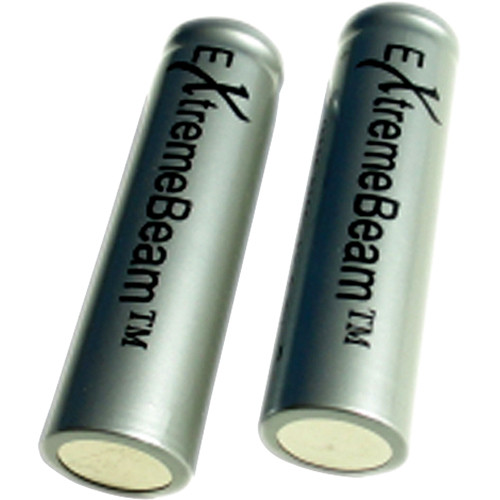 ExtremeBeam 18650 Rechargeable Li-ion Batteries (Two Pack)