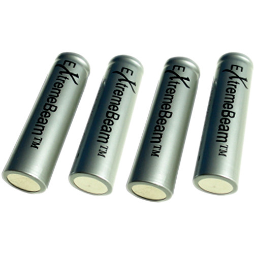 ExtremeBeam 18650 Rechargeable Battery Pack for TAC24 (4 Batteries)