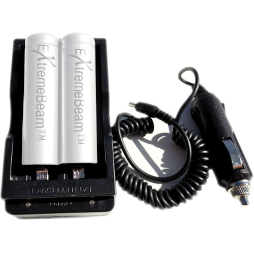 ExtremeBeam Double 18650 Charger - USA
