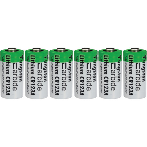 ExtremeBeam CR123A 3.0V Long-Life Lithium Battery Pack (6 Pack)