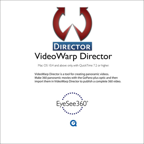 EyeSee360 VideoWarp Director for Mac