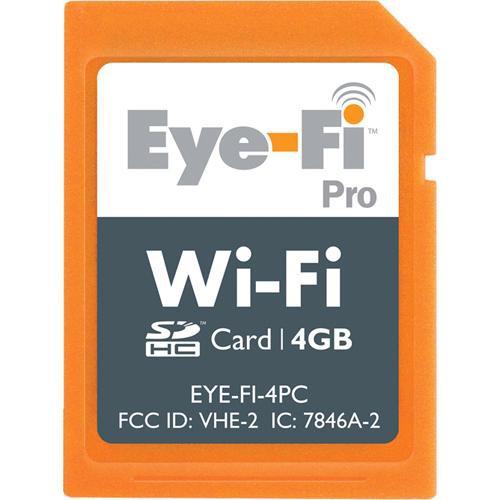 Eyefi 4GB Wi-Fi Pro SDHC Memory Card