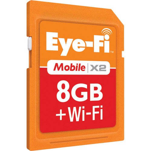 Eyefi 8GB Memory Card Mobile X2 Wireless Class 6