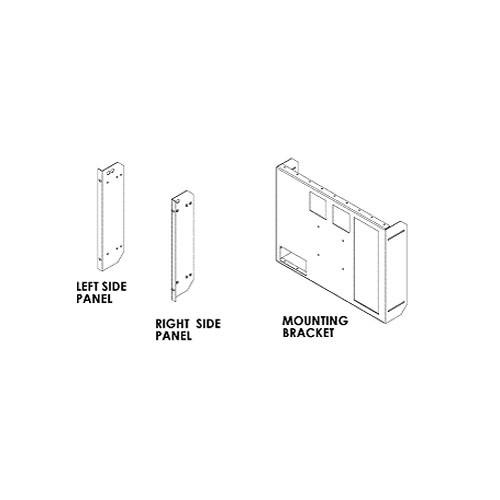 FEC RAK2024LCD Rackmount Kit for JVC DTV20L3DY / DTV24L3DY / DT-V24G11Z / DT-R24L4U LCD Monitors