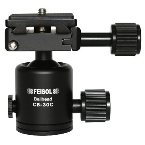 FEISOL CB-30C Ballhead with QP-144750 Release Plate