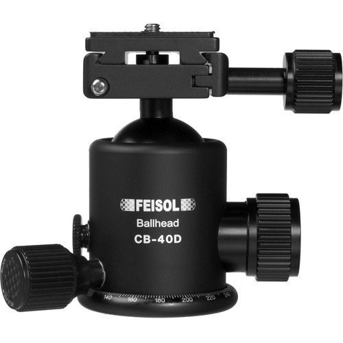 FEISOL CB-40D Ballhead with QP-144750 Release Plate