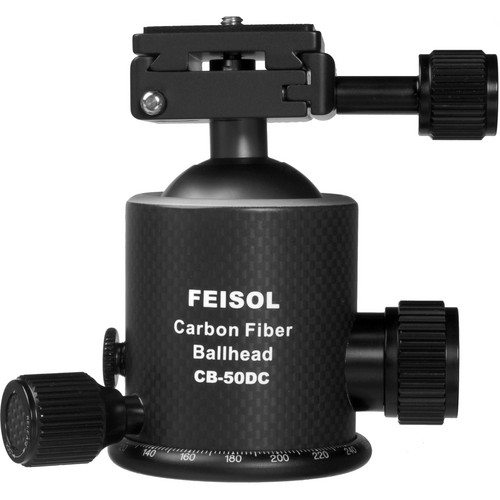 FEISOL CB-50DC Ballhead with QP-144750 Release Plate