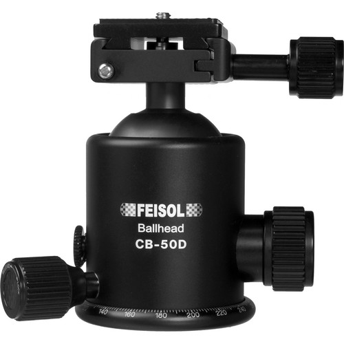 FEISOL CB-50D Ballhead with QP-144750 Release Plate