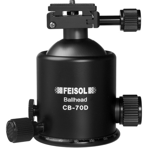 FEISOL CB-70D Ballhead with QP-144750 Release Plate