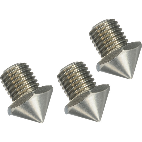 FEISOL Three Short Stainless Steel Spikes