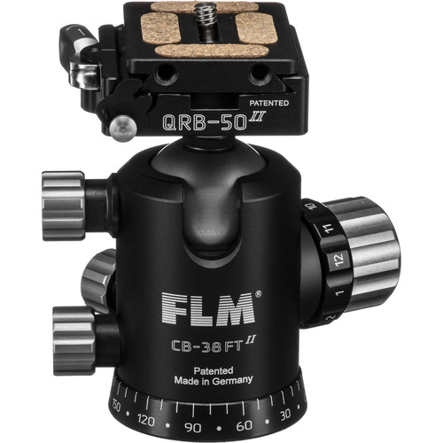 FLM CB-38 FTR Ball Head with QRP-50 Quick Release System