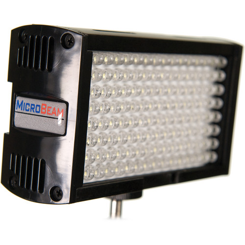 Flolight Microbeam 128 LED On Camera Video Light (3200K, Spot, Panasonic Battery Plate)