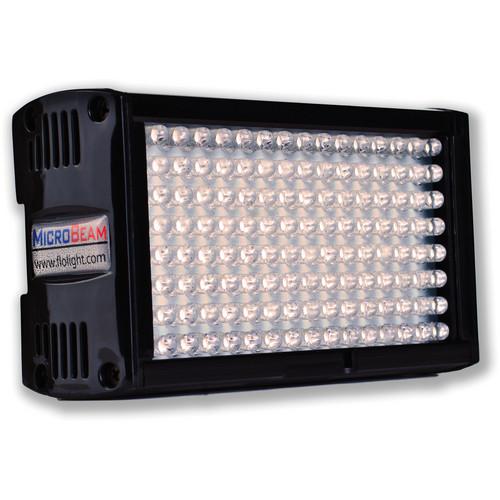 Flolight Microbeam 128 LED On Camera Video Light (5600K, Flood, Sony Battery Plate)