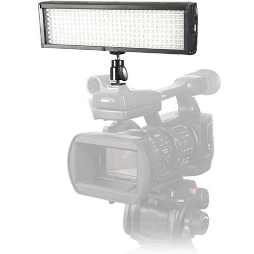 Flolight Microbeam 256 LED On Camera Video Light (5600K, Flood, Panasonic Battery Plate)