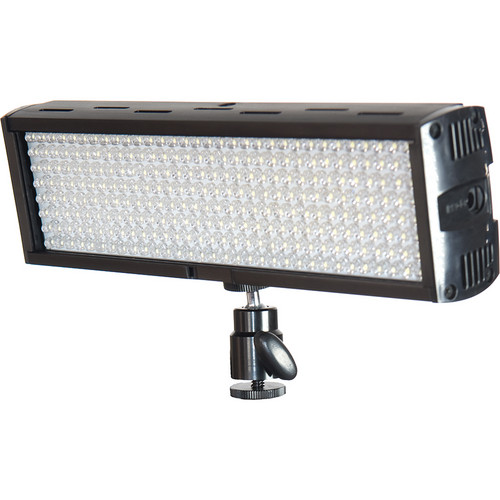 Flolight Microbeam 256 LED On Camera Video Light (3200K, Flood, Panasonic Battery Plate)