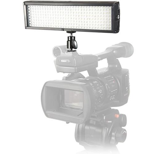 Flolight Microbeam 256 LED On Camera Video Light (5600K, Flood, Sony Battery Plate)