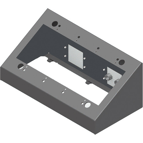 FSR DSKB-4G 4-Gang Desktop Mounting Box (Black)