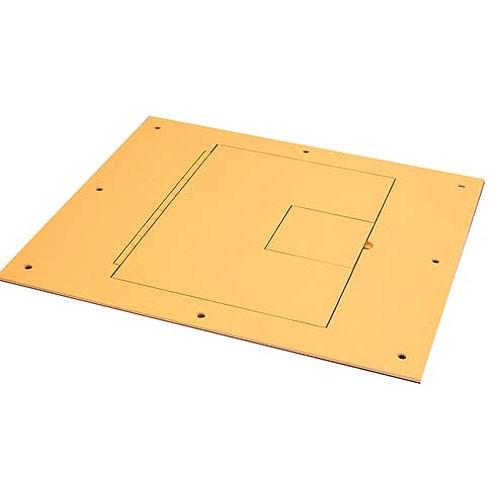 FSR FL-1500-2DO Floor Box with Divided Bracket (Oak)