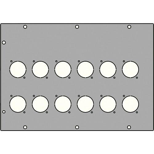 FSR FL-1500-X12P 12 XLR Large Plate
