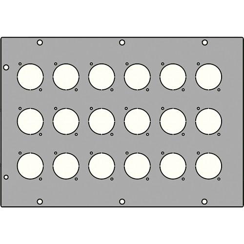 FSR FL-1500-X18P 18 XLR Large Plate