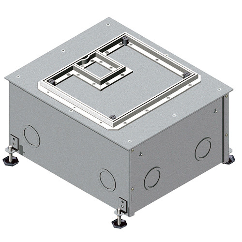 "FSR FL-500P-4 Floor Box (4"" Depth)"