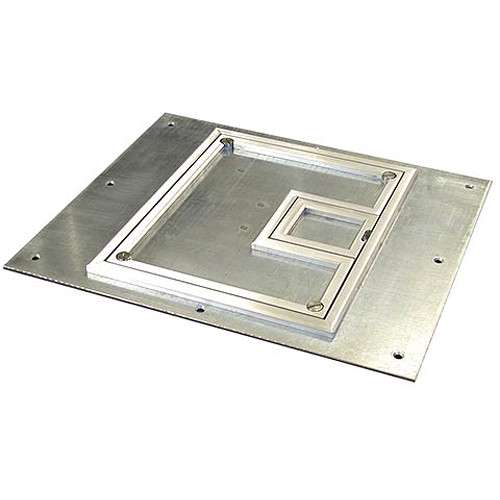 "FSR FL-500P-SLP-C Cover With Beveled ¼"" Aluminum Carpet Flange (Lift-Off Door)"