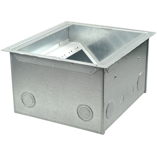 "FSR FL-600P Floor Box  - 4"" Deep"