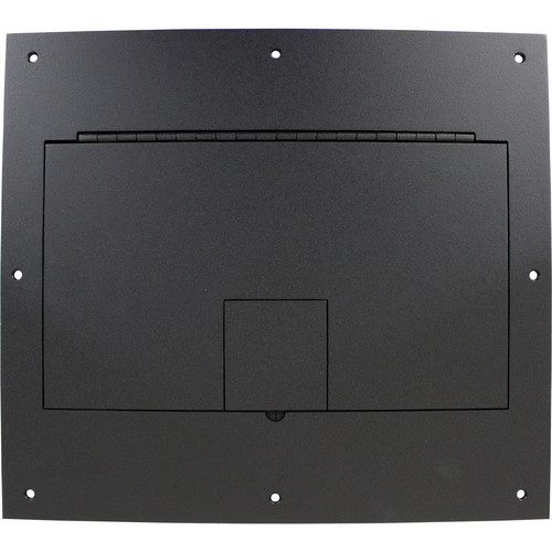 FSR FL-600P-BLK-C (No Flange) With Hinged Door in Black Sandtex