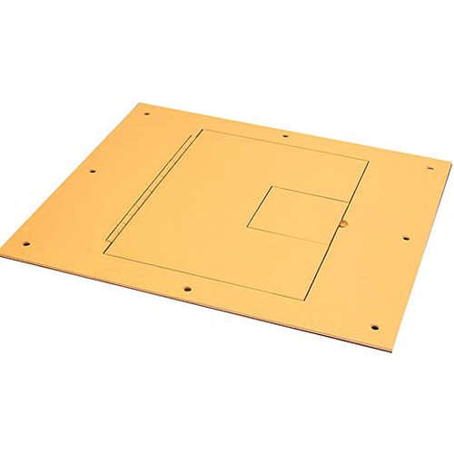 FSR FL-600P-OAK-C (No Flange) With Hinged Door in Lt. Oak Sandtex