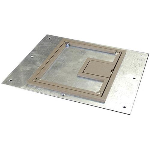 """FSR FL-600P-PLP-CLY-C 1/4""""Painted Carpet Flange - Clay (Lift off door)"""