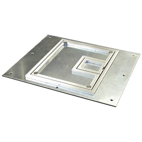 "FSR FL-600P-SSQ-C 1/4"" Square Aluminum Flange (Lift off door)"