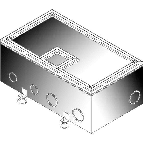 "FSR FL-700 5.25"" Deep Floor Box"