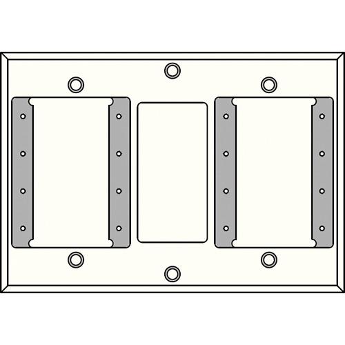 FSR IPSPWP2D-WHT 2 Gang Wall Plate (White)