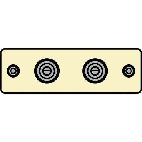 FSR IPS-A221S-IVO  IPS Audio Insert (Ivory)