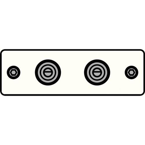 FSR IPS-A221S-WHT  IPS Audio Insert (White)