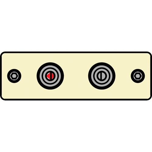FSR IPS-A222S-IVO  IPS Audio Insert (Ivory)