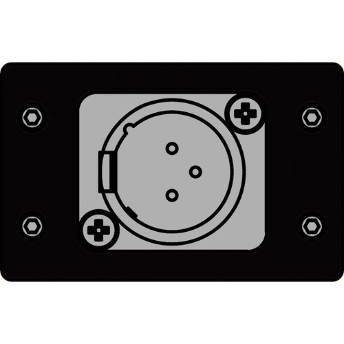 FSR IPS-A612D-BLK  IPS Audio Insert (Black)