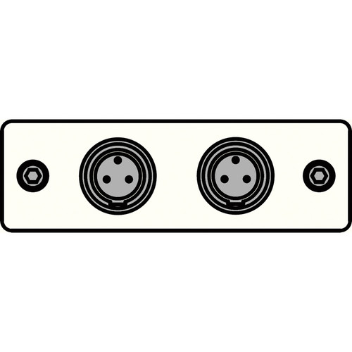 FSR IPS-A620S-WHT  IPS Audio Insert (White)