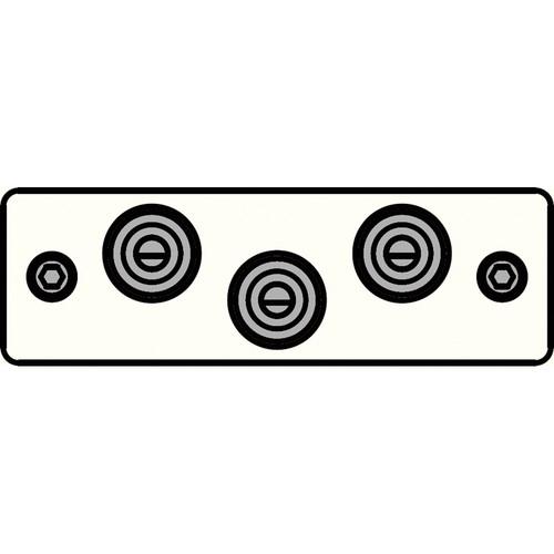 FSR IPS-AV230S-WHT  IPS Audio/Video Insert (White)