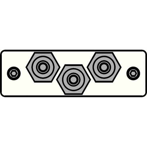 FSR IPS-AV231S-WHT  IPS Audio/Video Insert (White)