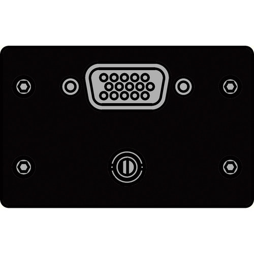 FSR IPS-AV920D-BLK  IPS Audio/Video Insert (Black)