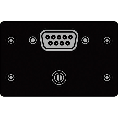 FSR IPS-AV923D-BLK  IPS Audio/Video Insert (Black)